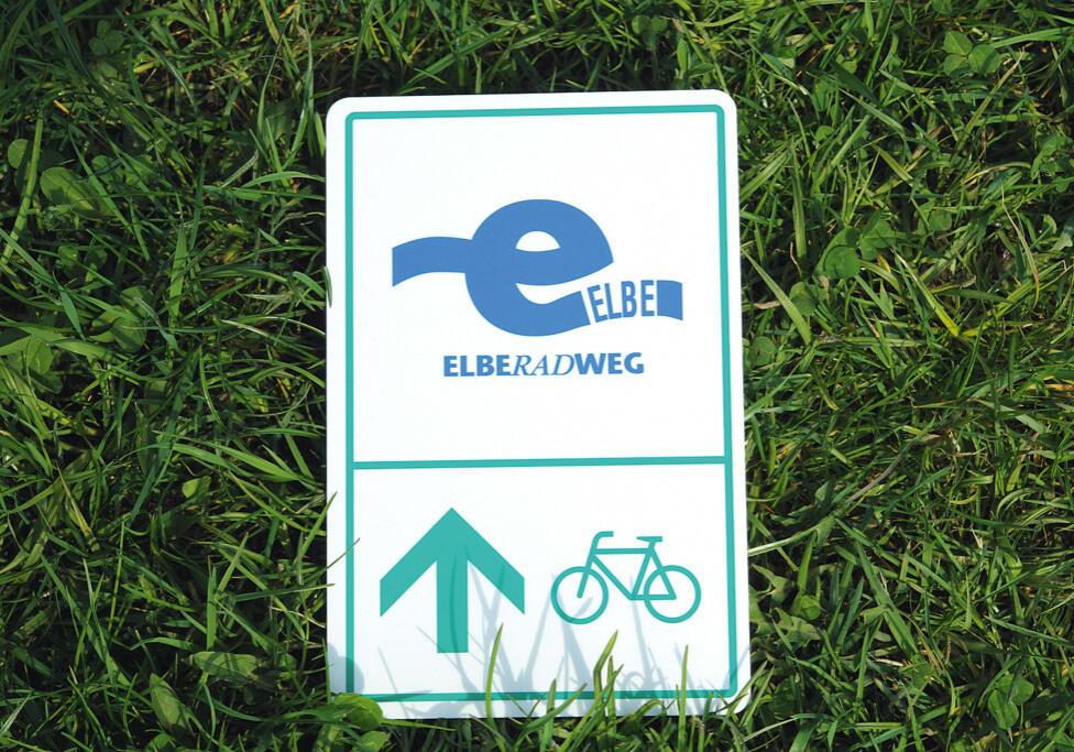 Souvenirschild Elberadweg