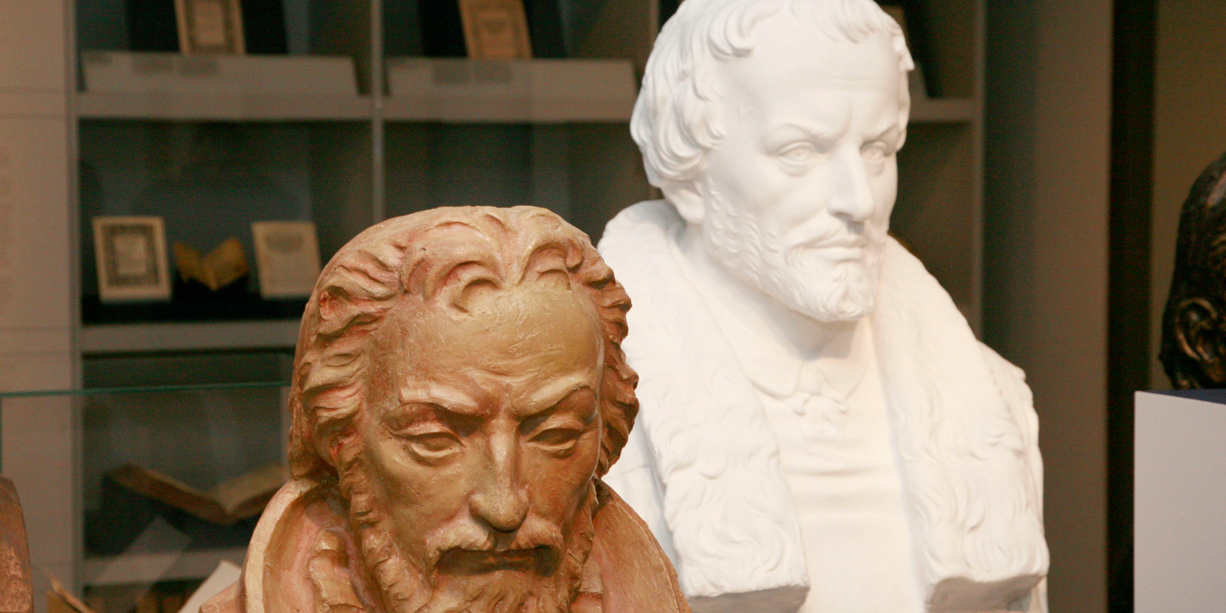 Philipp Melanchtohn (rechts)